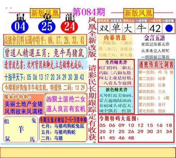 084期二代凤凰报