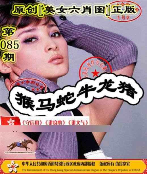 085期另版美女六肖图