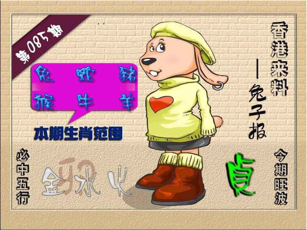 085期(香港来料)兔报
