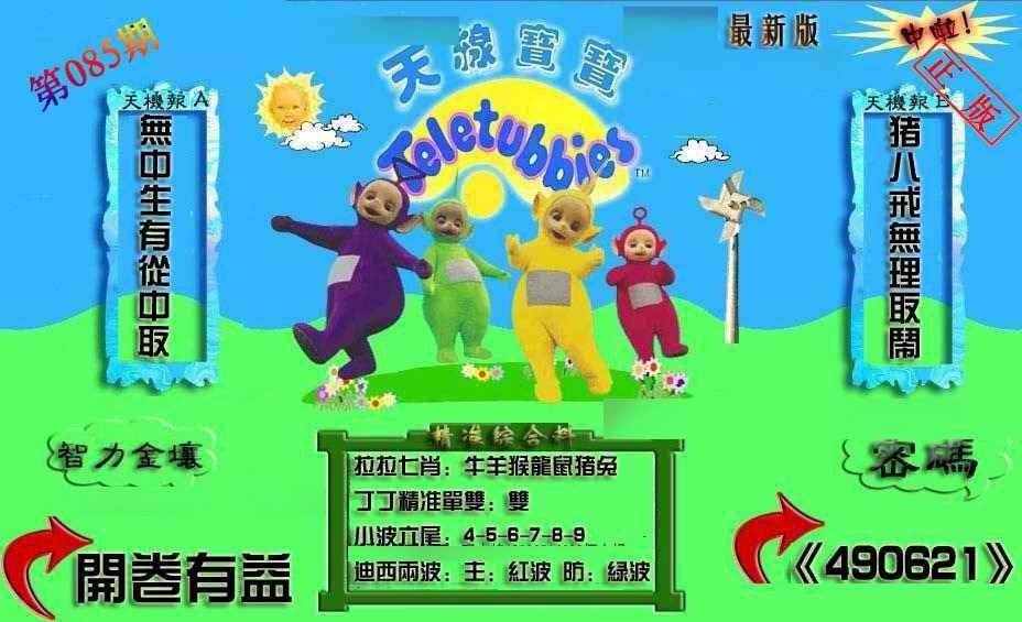 085期新天线宝宝(2006三版)