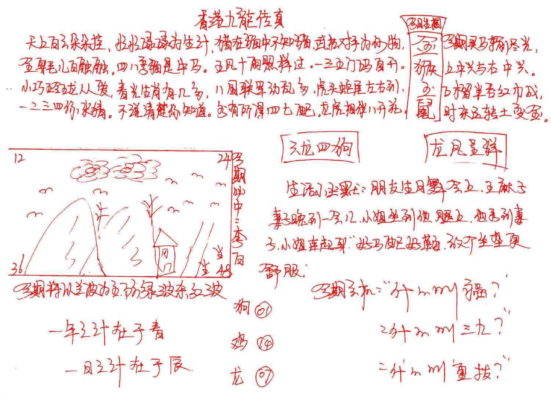 086期九龙传真(手写)