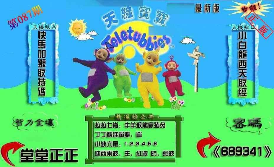 087期新天线宝宝(2006三版)
