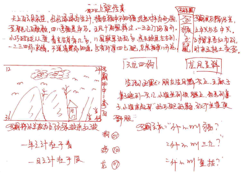 088期九龙传真(手写)