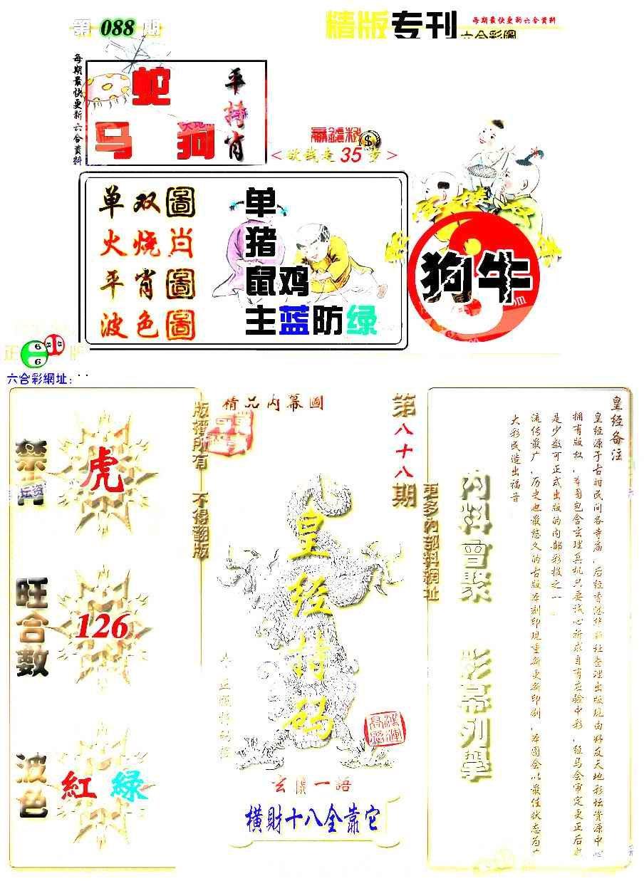 088期精版专刊